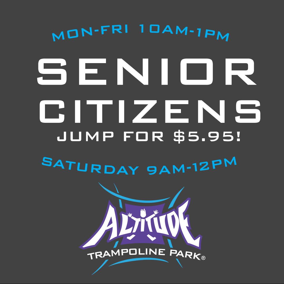 Trampoline Park - Senior-Citizen