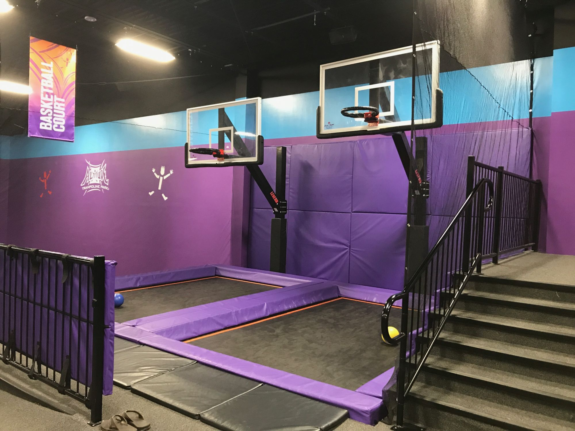 trampoline parks for kids entertainment